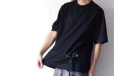 画像3: ETHOSENS / ロープベルトTシャツ (3)