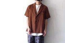 画像13: ETHOSENS / ショートスリーブジャケットシャツ (13)