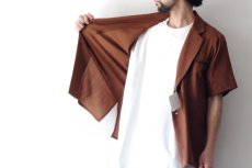 画像6: ETHOSENS / ショートスリーブジャケットシャツ (6)