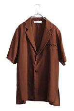 画像1: ETHOSENS / ショートスリーブジャケットシャツ (1)