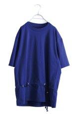 画像1: ETHOSENS / ロープベルトTシャツ (1)