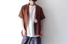 画像4: ETHOSENS / ショートスリーブジャケットシャツ (4)