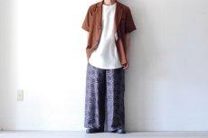 画像3: ETHOSENS / ショートスリーブジャケットシャツ (3)