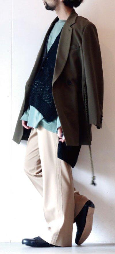 画像3: ETHOSENS / ロープベルトジャケット