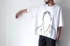 画像4: Licht Bestreben / サイドベントプリントTシャツ (4)