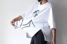 画像3: Licht Bestreben / サイドベントプリントTシャツ (3)