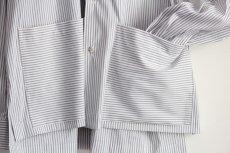 画像16: TAUPE / ダブルポケットシャツ (16)