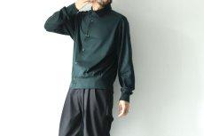 画像9: ETHOSENS / コットンニットシャツ (9)