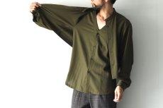 画像9: ETHOSENS / レイヤーシャツ (9)