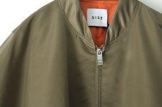 画像14: SISE / バルーンスリーブレス中綿ブルゾン (14)