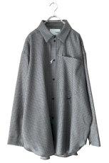 画像1: yoshio kubo GROUNDFLOOR / チェックシャツ (1)