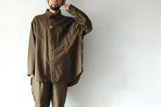 画像2: yoshio kubo GROUNDFLOOR / チェックシャツ (2)
