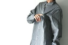 画像12: STUDIO NICHOLSON / OVERSIZED POINT COLLAR SHIRT (12)