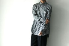 画像10: STUDIO NICHOLSON / OVERSIZED POINT COLLAR SHIRT (10)