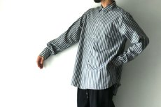 画像6: STUDIO NICHOLSON / OVERSIZED POINT COLLAR SHIRT (6)