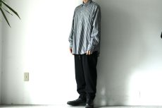 画像4: STUDIO NICHOLSON / OVERSIZED POINT COLLAR SHIRT (4)