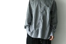画像11: STUDIO NICHOLSON / OVERSIZED POINT COLLAR SHIRT (11)