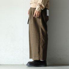 画像4: yoshio kubo GROUNDFLOOR / ベルテッドパンツ (4)