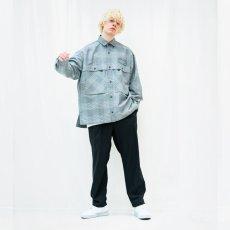 画像2: TAUPE /ドライチェックタックポケットCPOシャツ (2)