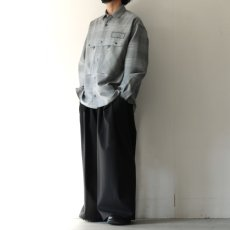画像4: TAUPE /ドライチェックタックポケットCPOシャツ (4)