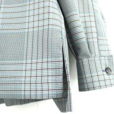 画像14: TAUPE /ドライチェックタックポケットCPOシャツ (14)