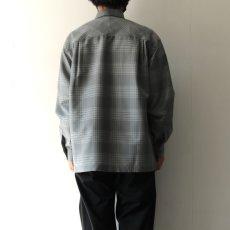 画像8: TAUPE /ドライチェックタックポケットCPOシャツ (8)