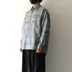 画像6: TAUPE /ドライチェックタックポケットCPOシャツ (6)