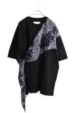 画像1: yoshio kubo GROUNDFLOOR / スカーフTシャツ (1)
