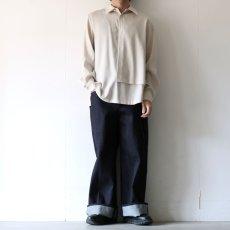 画像3: ETHOSENS / レイヤーシャツ (3)