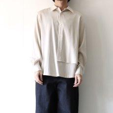 画像5: ETHOSENS / レイヤーシャツ (5)