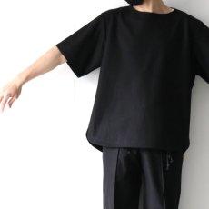 画像11: ETHOSENS / ボートネックTシャツ (11)