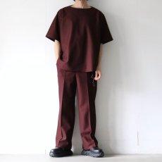 画像12: ETHOSENS / ボートネックTシャツ (12)