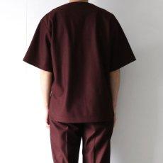 画像9: ETHOSENS / ボートネックTシャツ (9)