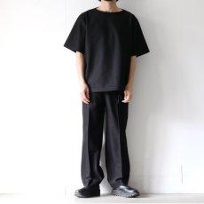 画像3: ETHOSENS / ボートネックTシャツ (3)