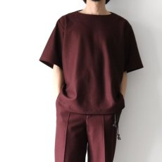画像10: ETHOSENS / ボートネックTシャツ (10)