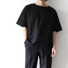 画像5: ETHOSENS / ボートネックTシャツ (5)