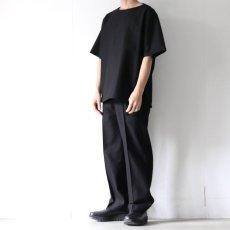 画像4: ETHOSENS / ボートネックTシャツ (4)