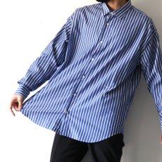 画像9: UNDECORATED / ストライプシャツ (9)