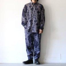 画像2: yoshio kubo GROUNDFLOOR / ペイズリーシャツ (2)