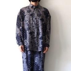 画像5: yoshio kubo GROUNDFLOOR / ペイズリーシャツ (5)