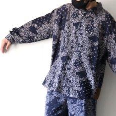 画像10: yoshio kubo GROUNDFLOOR / ペイズリーシャツ (10)