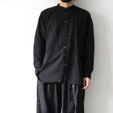 画像9: suzuki takayuki / バンドカラーシャツ (9)