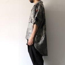 画像7: Licht Bestreben / ジャカードポンチョシャツ (7)