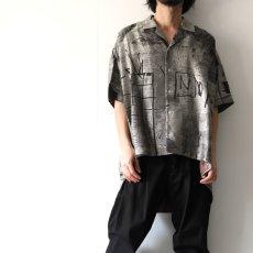 画像4: Licht Bestreben / ジャカードポンチョシャツ (4)