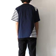 画像7: yoshio kubo GROUNDFLOOR / ツイストボーダーT (7)