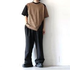 画像2: yoshio kubo GROUNDFLOOR / ツイストボーダーT (2)