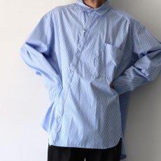 画像8: yoshio kubo GROUNDFLOOR / ツイステッドストライプシャツ (8)