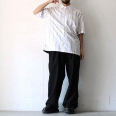 画像3: yoshio kubo GROUNDFLOOR / S/Sストライプシャツ (3)