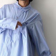 画像10: yoshio kubo GROUNDFLOOR / ツイステッドストライプシャツ (10)