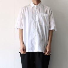 画像5: yoshio kubo GROUNDFLOOR / S/Sストライプシャツ (5)
